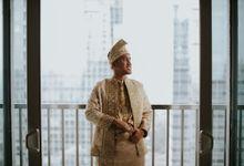 From Lulu & Iqbals Akad by Menara Mandiri (Ex. Plaza Bapindo) by IKK Wedding
