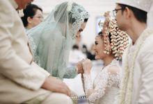 WEDDING OF REVITA & PURUSA by  Menara Mandiri by IKK Wedding (ex. Plaza Bapindo)