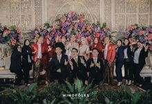 Reception of Salsa and Suha by  Menara Mandiri by IKK Wedding (ex. Plaza Bapindo)