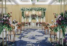 New Normal Wedding of Rima & Adre by  Menara Mandiri by IKK Wedding (ex. Plaza Bapindo)