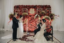 Tea Pai Ceremony of Alan & Katarina by Skenoo Hall Emporium Pluit by IKK Wedding