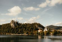 Amazing Fall Lake Bled Elopement by Lake Bled wedding planner Petra Starbek