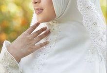 Akad Hijrah Series 01 Busana Syari Akad by LAKSMI - Kebaya Muslimah & Islamic Bride