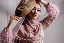 Newest Collection Romantic Series Gown Photoshoot by LAKSMI - Kebaya Muslimah & Islamic Bride