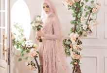 Laksmi New Collection Photoshoot Rustic Pink Dress Tyas by LAKSMI - Kebaya Muslimah & Islamic Bride