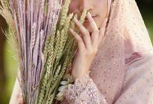 Resepsi Hijrah Series Busana Syari by LAKSMI - Kebaya Muslimah & Islamic Bride