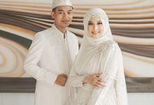 Akad Nikah Affan & Fisa by LAKSMI - Kebaya Muslimah & Islamic Bride