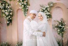 Akad Nikah Ameer Azzikra & Nadzira Shafa by LAKSMI - Kebaya Muslimah & Islamic Bride