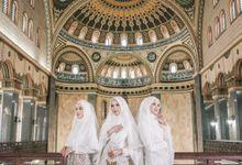 Dress Kebaya Akad Gamis Ottoman Series by LAKSMI - Kebaya Muslimah & Islamic Bride
