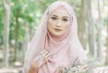 Ottoman Series - Soft Pink by LAKSMI - Kebaya Muslimah & Islamic Bride