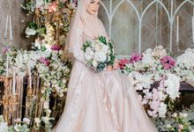 New Collection | Nude Sekar Fathiya by LAKSMI - Kebaya Muslimah & Islamic Bride