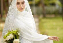 Akad Hijrah Series 03 Busana Syari Akad by LAKSMI - Kebaya Muslimah & Islamic Bride