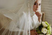 Akad Hijrah Series 02 Busana Syari Akad by LAKSMI - Kebaya Muslimah & Islamic Bride