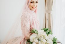 New Collection | Dusty Pink Annisa by LAKSMI - Kebaya Muslimah & Islamic Bride