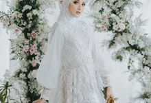New Collection | White Sahaja Series by LAKSMI - Kebaya Muslimah & Islamic Bride