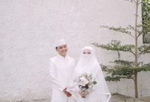 Akad Nikah Wafiq & Ichan by LAKSMI - Kebaya Muslimah & Islamic Bride
