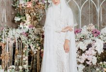 Dress Akad Sherel Thalib Photoshoot by LAKSMI - Kebaya Muslimah & Islamic Bride