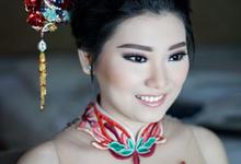 Engagement Makeup by lalanindita