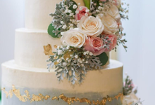 Wedding Cake - Hebert & Michelle by Lareia Cake & Co.