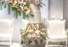 Wedding Cake - Edwin & Sisca by Lareia Cake & Co.