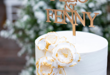 Wedding Cake - Nico & Fenny by Lareia Cake & Co.