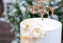Wedding Cake - Nico & Fenny by Lareia Cake & Co.