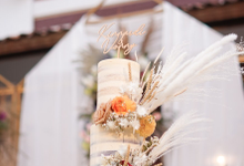 Wedding Cake - King & Vonny by Lareia Cake & Co.