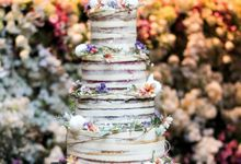 Wedding Cake - Kerwin & Lisa by Lareia Cake & Co.