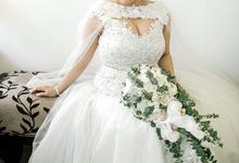 Bride: Katrina Yuhico - Macomb by LASALA