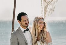 A bohemian dream wedding on the beach by Soo Events