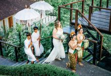 INTIMATE FOREST WEDDING - LAUREN & KAREEM by Kamandalu Ubud