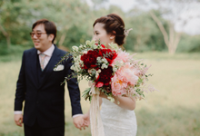 Pre Wedding Shoot by Lavender Love Florist