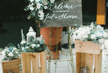 RoM solemnization Package  by Lavender Love Florist