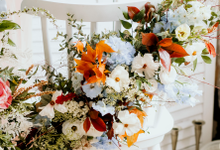 Professional wedding course by Lavender Love Florist