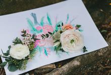 handbouqet by Berkat Bahagia Flowers