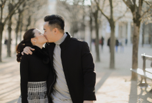 The Engagement Session of Ryan & Emeline by Lavene Pictures