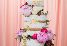 Floral Destiny Dessert Table by LA BONNIE PASTRIES PTE. LTD.