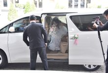 Best wishes for a fun-filled future together by sapphire wedding car