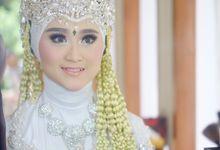 Wulan Dan Andi Wedding by Ginna Susant Makeup