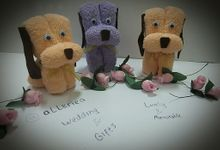 Towel Handmade by Alleriea Wedding Gifts