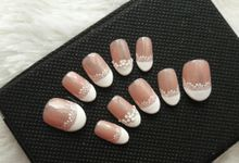 Lace Nails by Slovencya Nails