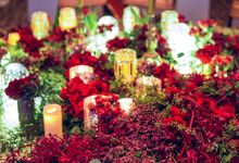 Blushingly Red by Fleurs At Marrakesh