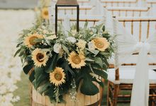 Rustic Beachfront Wedding for Nathan & Meidy in Bali by Vilia Wedding Planner