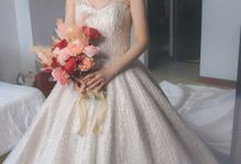 Custom Wedding Dress by ELORACE