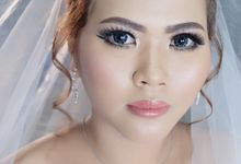 Wedding Make Up For Desy 30.07.17 by nof makeup