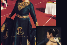 Bridal attire's by Lekshviya Rao Label