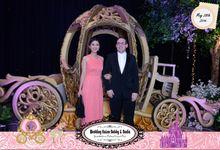 Nadia & Kaisar Bobby Alexander Wedding by Memoria Photobooth