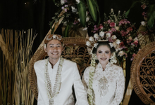 Sheilla & Hafidz Wedding  by Lentera Art Decoration
