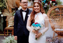 Intimate Wedding of Putri & Fredy by Lentera Art Decoration