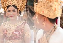 Eddy & Arysta Balinese Wedding by Lentera Wedding